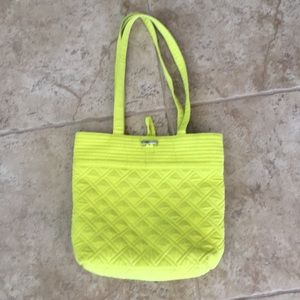Lime green/yellow tote!